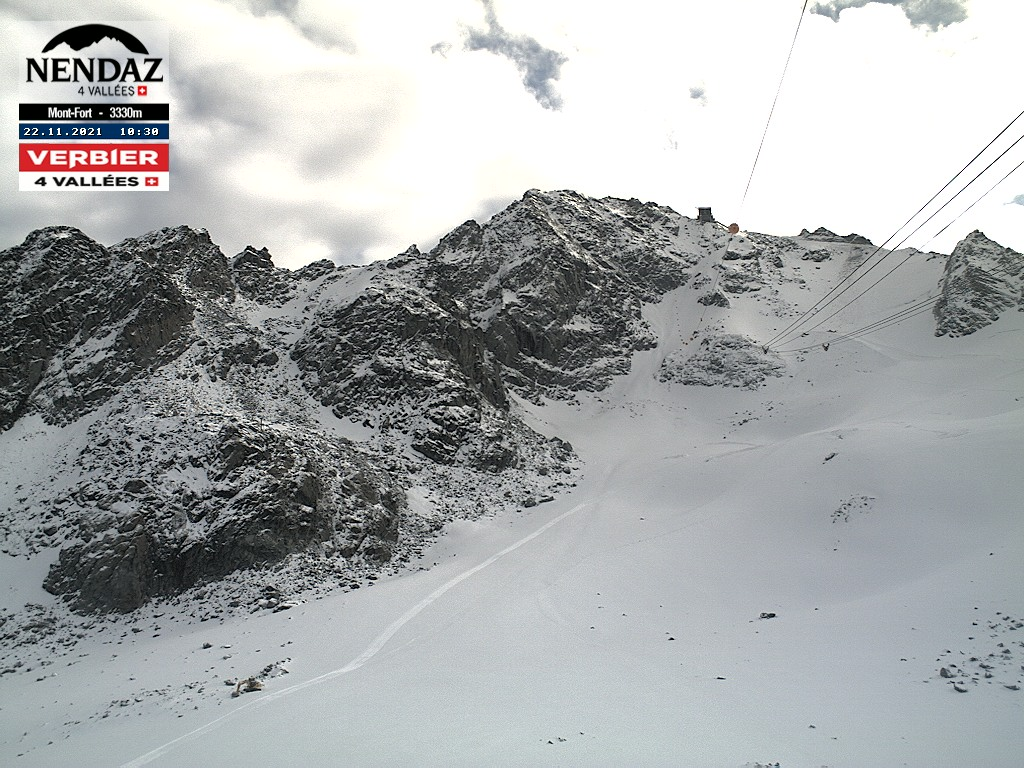 Webcam Les Gentianes - Alt. 2950m