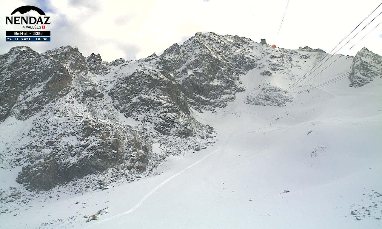 Čtyři údolí - Tortin (směr Mont Fort)